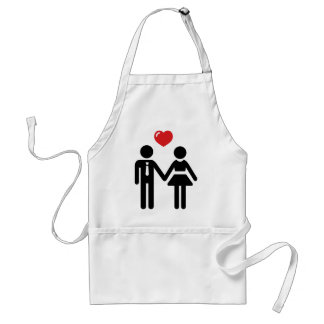 Him and Her Standard Apron