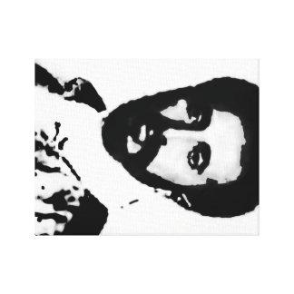 HIM Haile Selassie I Canvas Print