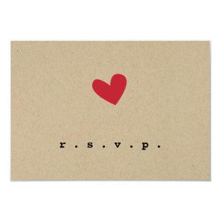 Him & Her Wedding RSVP Custom Invitations