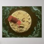 Him voyage dans the lune_Color Poster