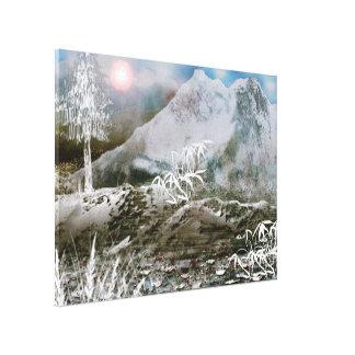 Himalaya4 Stretched Canvas Print