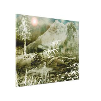 Himalaya5 Stretched Canvas Print