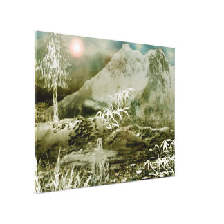 Himalaya5 Stretched Canvas Print