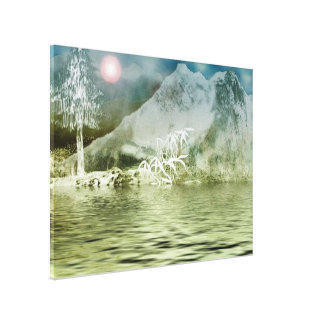 Himalaya6 Stretched Canvas Print