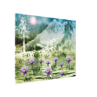 Himalaya7 Stretched Canvas Print