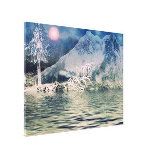 Himalaya8 Stretched Canvas Print