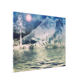 Himalaya8 Stretched Canvas Print