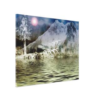 Himalaya9 Stretched Canvas Print