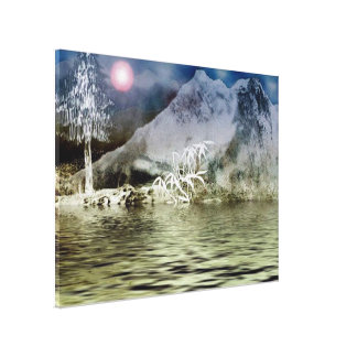 Himalaya9 Stretched Canvas Print
