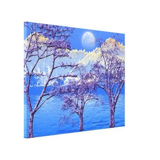Himalaya 13 Wrapped Canvas Canvas Print