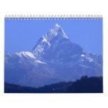 Himalaya de Nepal Calendarios De Pared