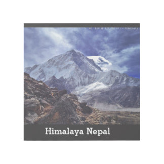 HIMALAYA Great Mountain from India Nepal Asia Gallery Wrap