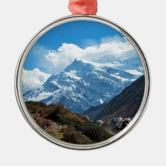 Himalaya Mount Everest India Nepal Travel Summer Metal Ornament