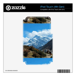 Himalaya Mount Everest India Nepal Travel Summer Skins For iPod Touch 4G