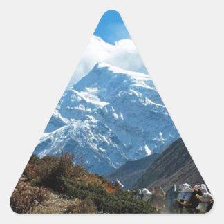 Himalaya Mount Everest India Nepal Travel Summer Triangle Sticker