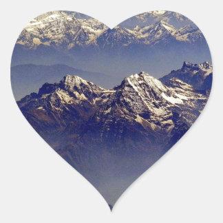 Himalaya Sud Avion Heart Sticker