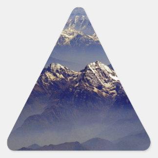 Himalaya Sud Avion Triangle Sticker