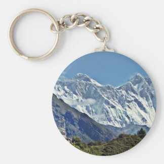 HIMALAYA - una de 1000 visiónes desde NEPAL Llavero Redondo Tipo Pin