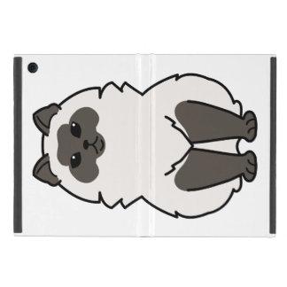 Himalayan Cat Cartoon iPad Mini Case