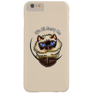 Himalayan Cat IAAM Blush Barely There iPhone 6 Plus Case