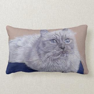 Himalayan Cat Lumbar Pillow
