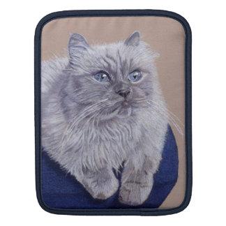 Himalayan Cat Rickshaw iPad 2 Sleeve iPad Sleeve