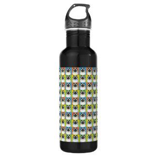 Himalayan Cat (Seal-Point) Cartoon Pop-Art Stainless Steel Water Bottle