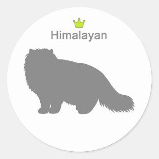 Himalayan g5 classic round sticker