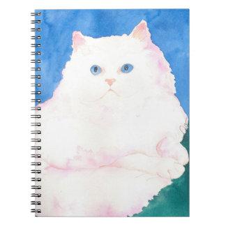 Himalayan Kitten Art Spiral Note Book