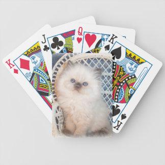Himalayan Kitten Cat Playing Cards