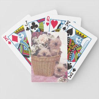 Himalayan Kittens Cat Playing Cards
