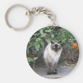 Himalayan Mix cat Keychain