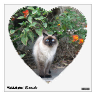 Himalayan Mix Cat Wall Sticker