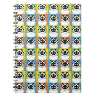 Himalayan Pop-Art (Seal) Notebook