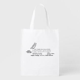 Himalayan Rabbit Reusable Bag