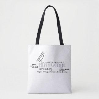 Himalayan Rabbit Tote Bag