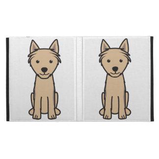 Himalayan Sheepdog Cartoon iPad Folio Case