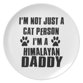 Himalayan shirts cat Designs Dinner Plate