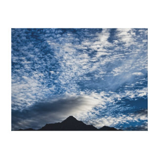 Himalayan Skies Gallery Wrapped Canvas