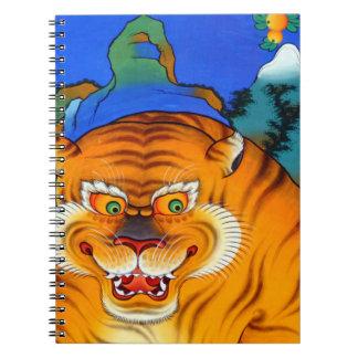 Himalayan Tiger Painting Notebook