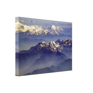 Himalayas Landscape Canvas Prints