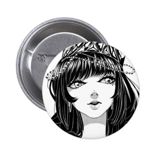 Hime Badge Pinback Button
