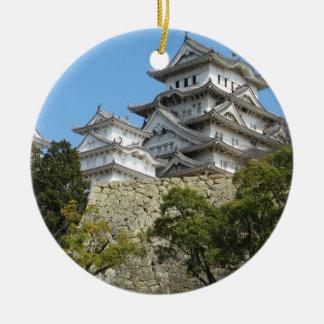 Himeji Castle 姫路城, Hyogo, Japan Ceramic Ornament