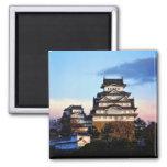 Himeji Castle at Sunrise Magnets