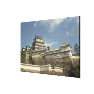 Himeji Castle, Kyoto, completed 1609 Canvas Print