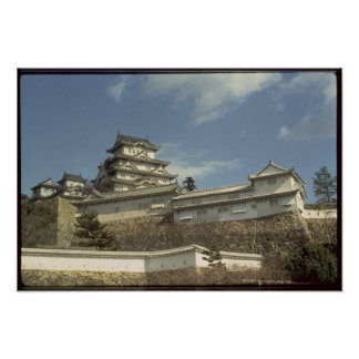 Himeji Castle, Kyoto, completed 1609 Poster