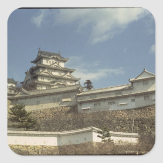 Himeji Castle, Kyoto, completed 1609 Square Sticker