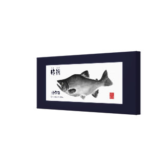 himemasu! < Nukahira lake >100 year retention! 150 Stretched Canvas Prints