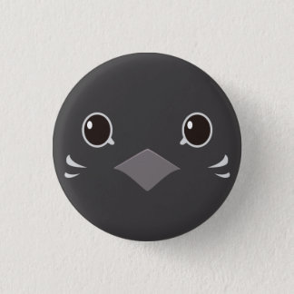 himeuzura (lead breast) - Quail (red-breasted) Pinback Button
