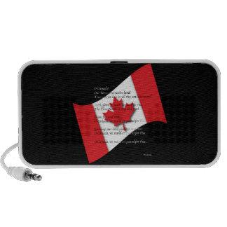 Himno canadiense mp3 altavoz